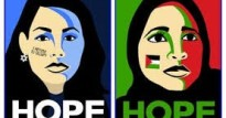 Hope px of jewish woman and palestinian woman