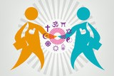 interfaith people meeting clip art